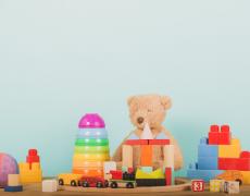 Les jouets de la petite enfance